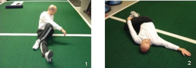 El Entrenamiento rotacional - Estiramientos de movimiento lumbar